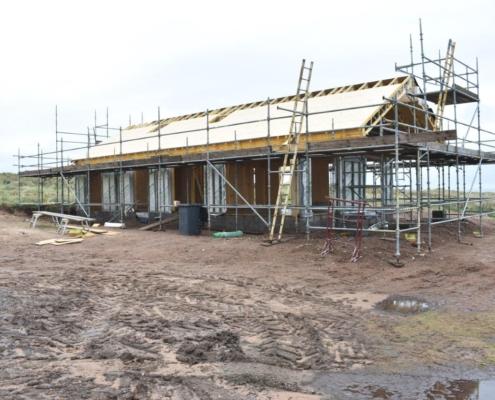 Beach Home Construction