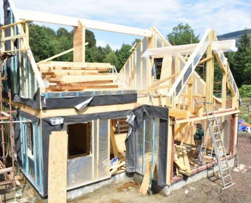 Chalet Home construction