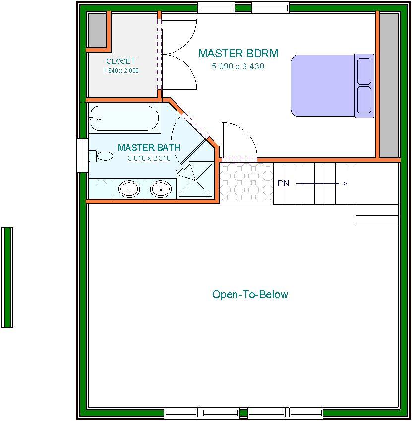 Annan Upper Floor Plan