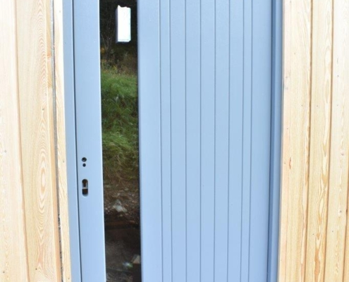 New Home construction front door