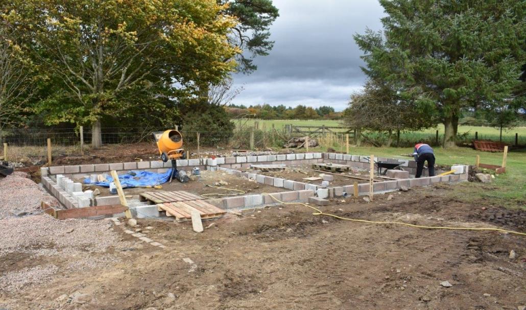 Cammachmore site construction