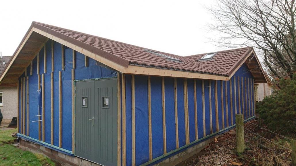 Cammachmore Garage Workshop build