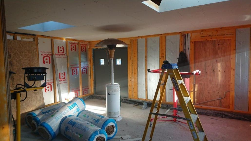 Cammachmore Garage Workshop construction