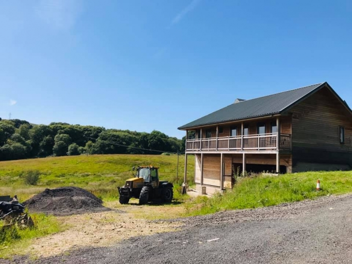 Chetham Farm Retreat construction