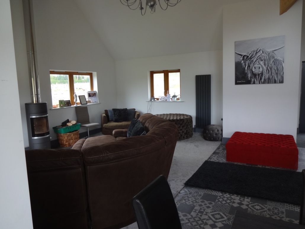 Chetham Farm Retreat interior