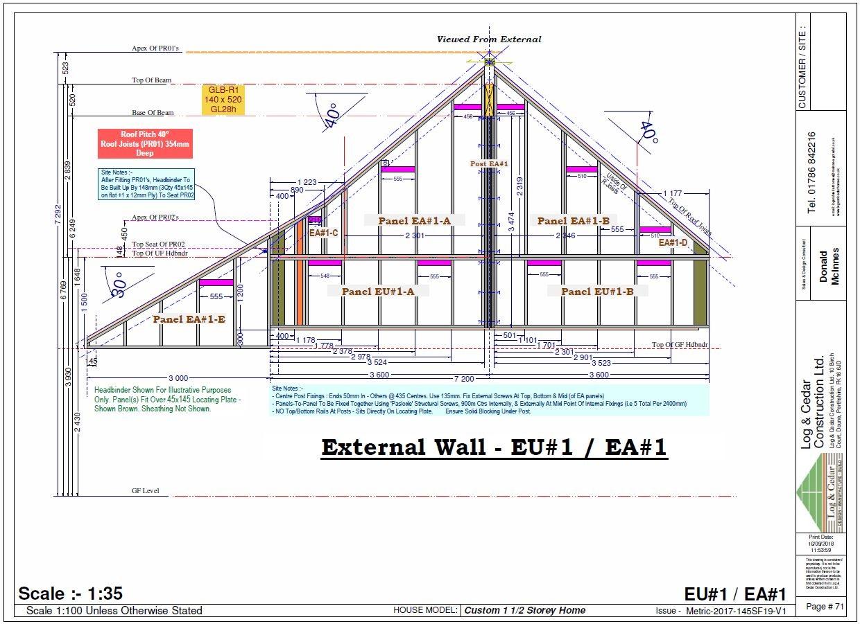 Construction Blueprints - External Wall