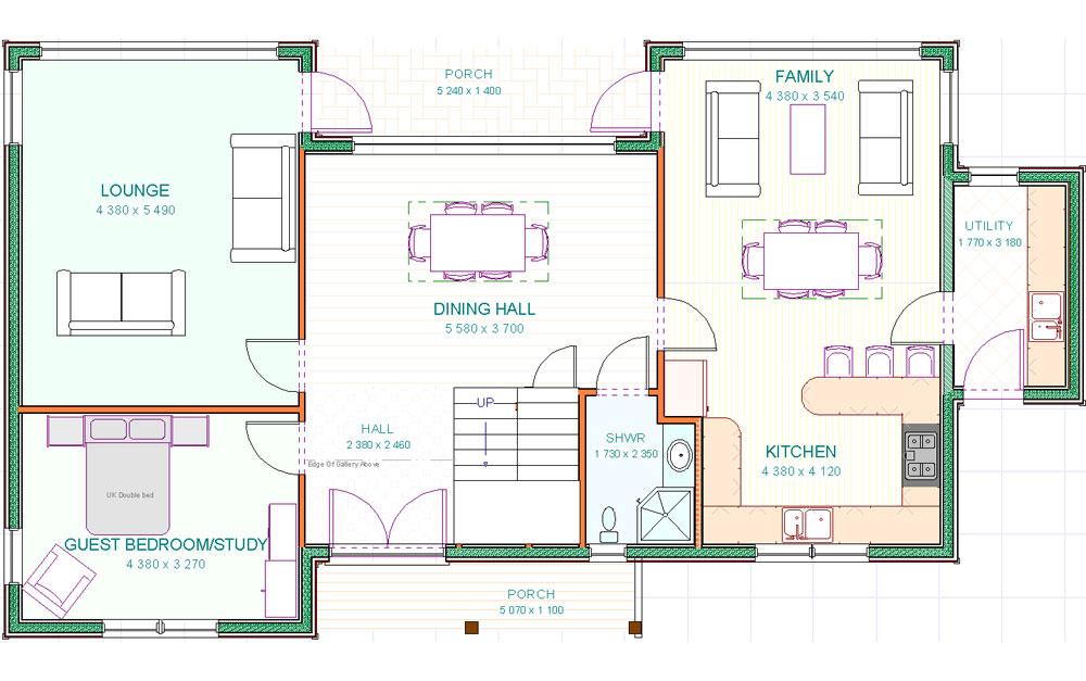Designs - Morven - GF Floorplan