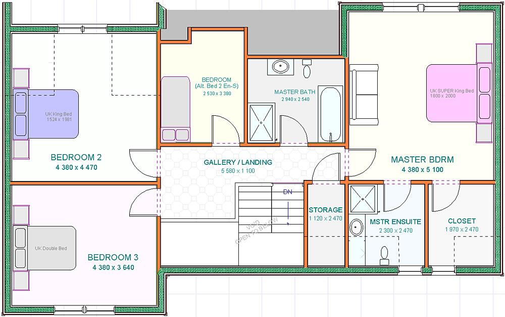 Designs - Morven - UF Floorplan