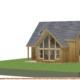 New Chalet Home 3D render