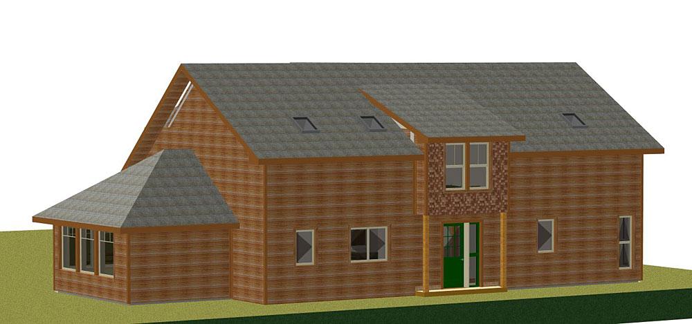 Lochnagar - 3D Render