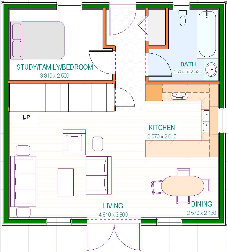 Lossie - Ground Floor Plans