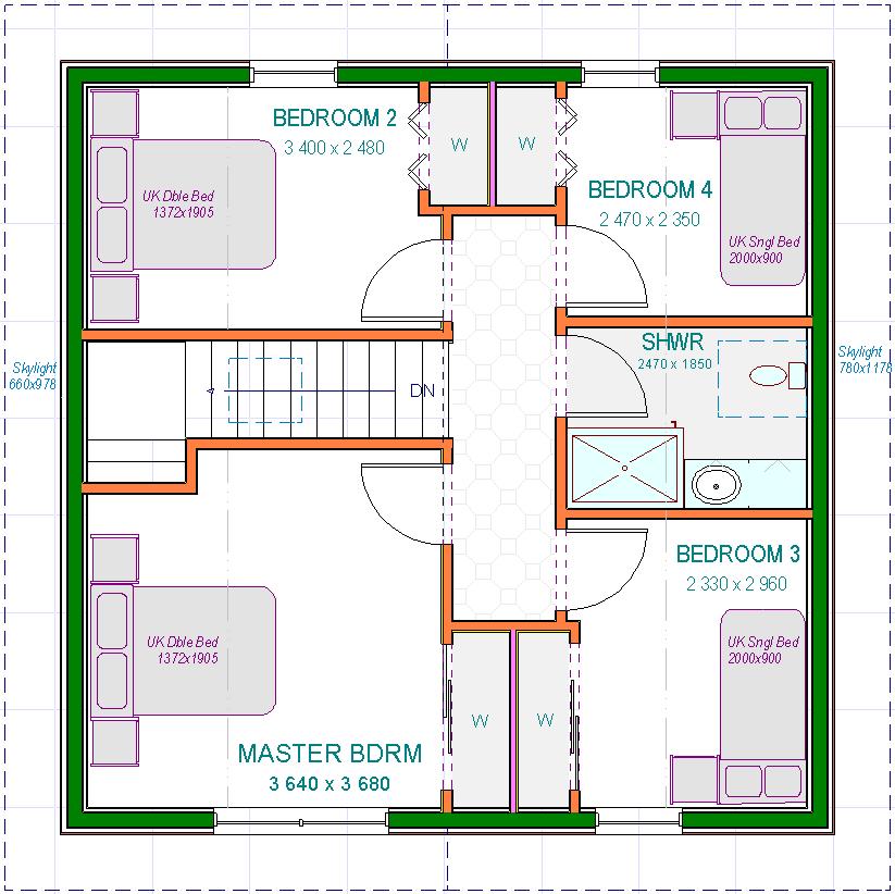 Lossie - Upper Floor Plans