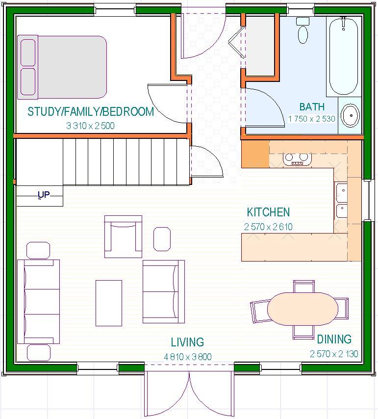 Floor Plan - Room Sizes