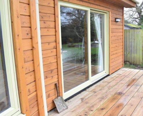 External photo of new home windows