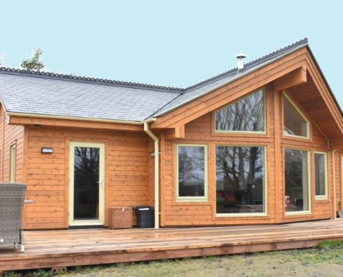 External photo of new home
