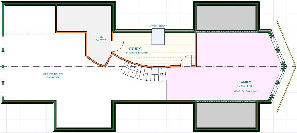 Snowdon - Upper Floor Plan