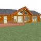 Sychdyn New Home 3D render